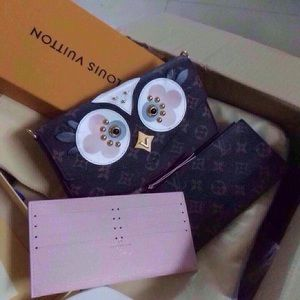 Owl Felicia pochette bag